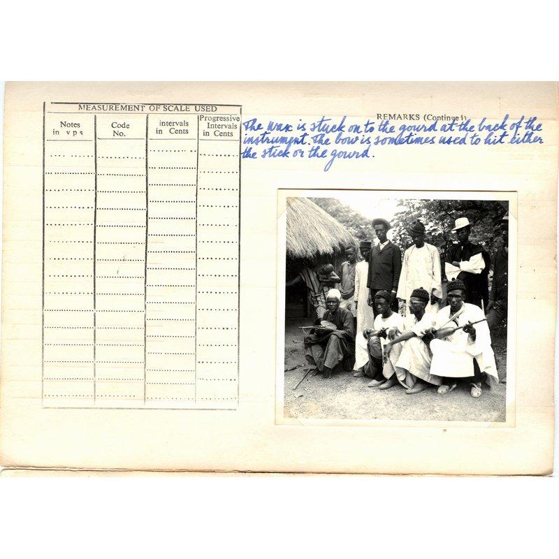Fula (?) song, accompanied by nyayaru