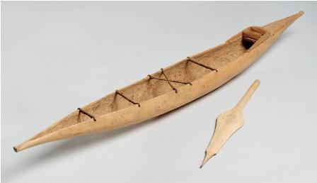 Model Canoe Paddle