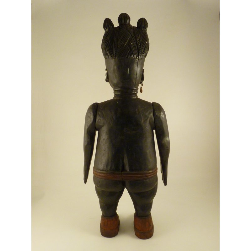 Carved  Twin Figure