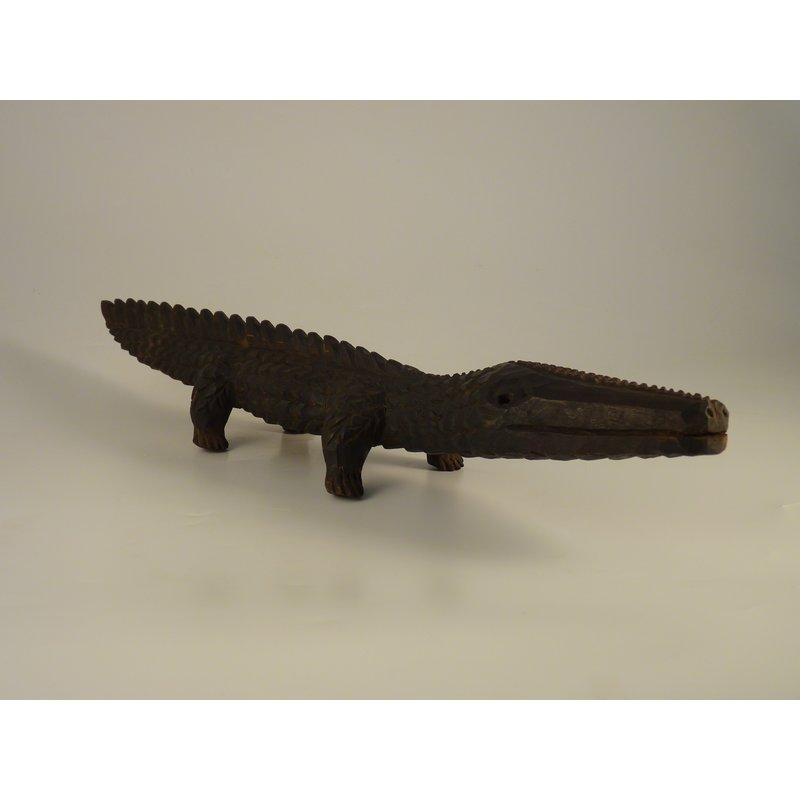 Wooden Crocodile