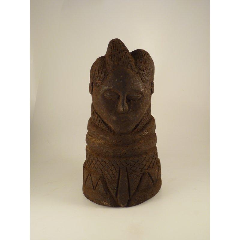 Wooden Bust