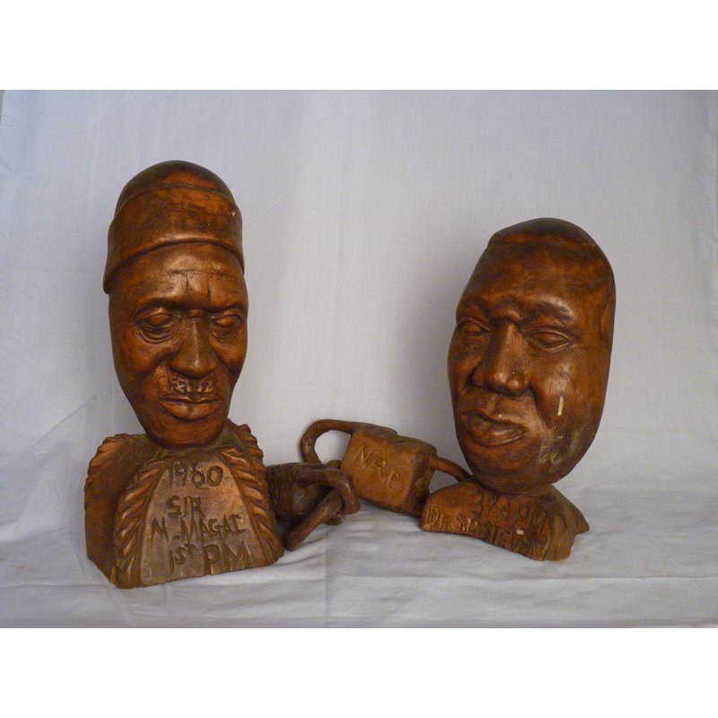 Margai and Stevens Carving