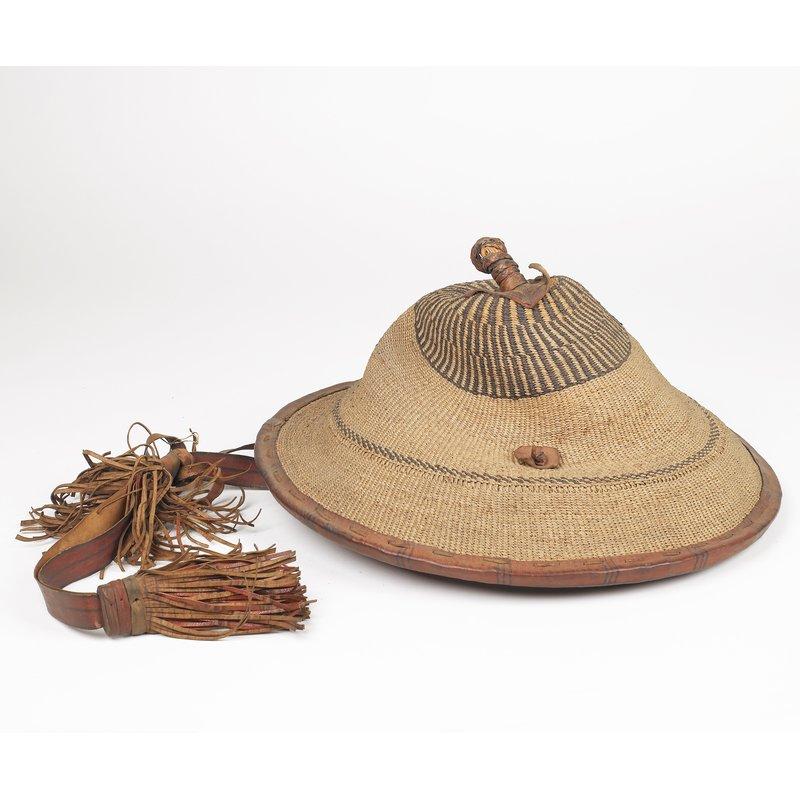 Gambian Raffia Hat